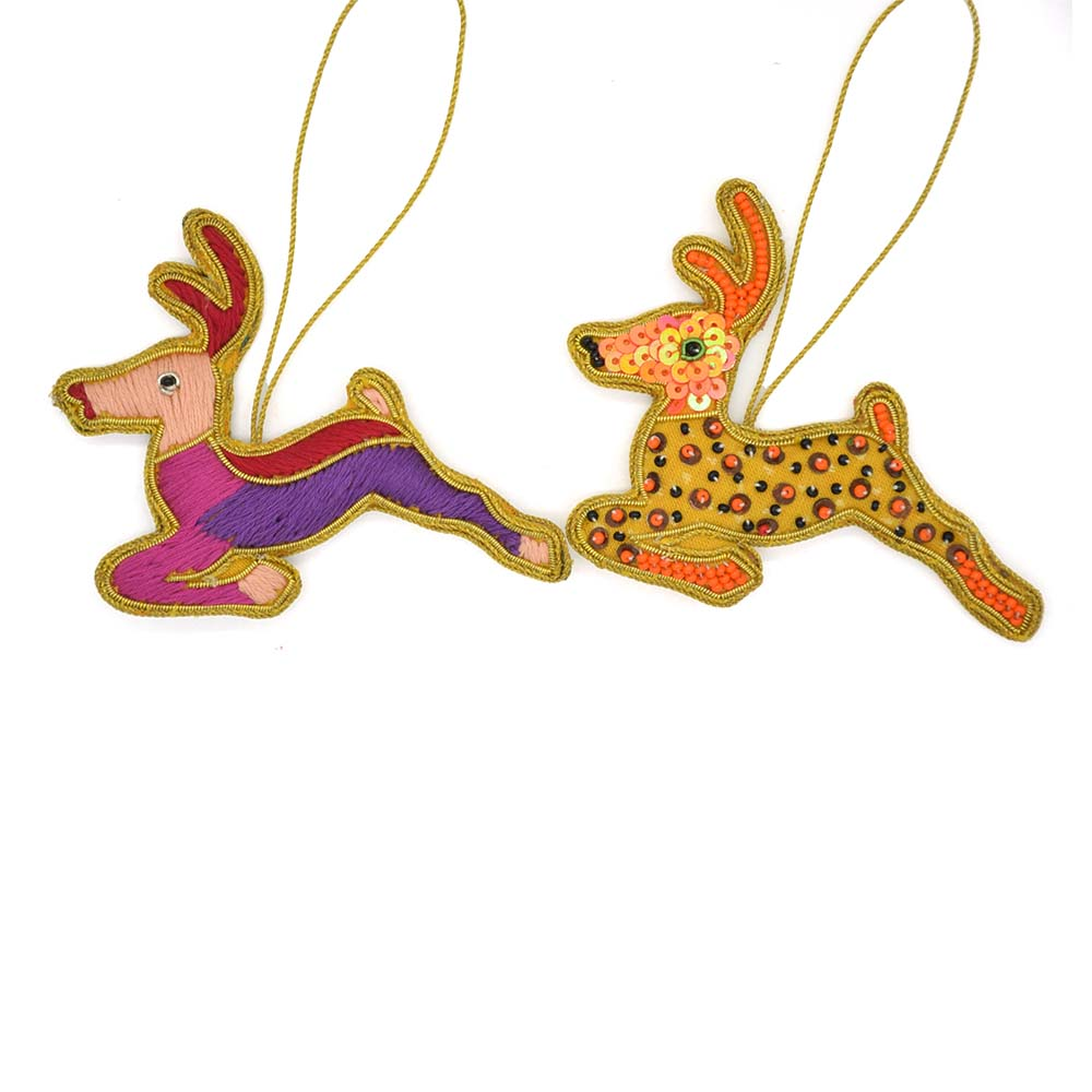 Moa 2413 deer ornament assorted for Art decoration international pvt ltd